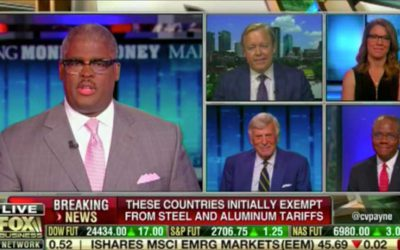 Trade War is a Hot Topic with Fox Business' Charles Payne